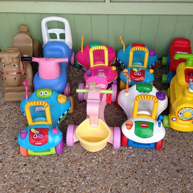 Great Riding Toys-prices starting at $10.50! #littletikes #step2 #playskool #vtech