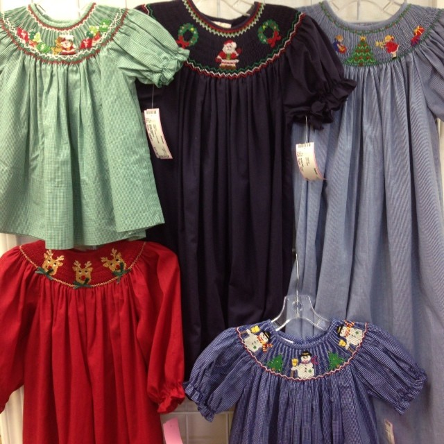 Smocked & Boutique Arriving Daily! #smocked #christmasclothing