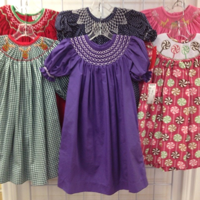 Smocked New Arrivals! #smocked #christmasclothing