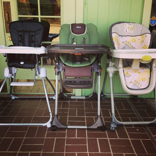 25% off ALL Baby Equipment Today! Includes pack n plays, strollers, walkers, swings, & more!#highchair #batonrouge #walker #packnplay #kidsresale