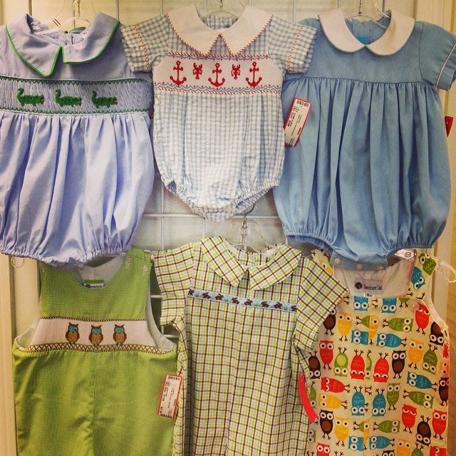 Boy Boutique New Arrivals! #shrimp&grits#ragsland#kellyskids #smocked #remembernguyen #batonrougeboutique #batonrougeresale #225
