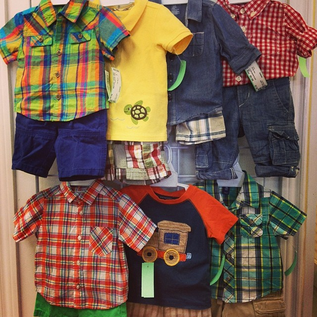 Cute Boys Short Sets, Prices Starting At $7.00!#batonrougeresale #gap#gymboree #childrensplace#oldnavy#225