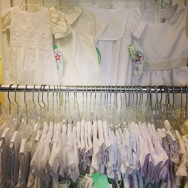 New With Tags Christening Gowns & Jon Jons, First Communion, & Flower Girl Dresses!#flowergirldress#firstcommunion#christening#christeninggown#batonrougeresale #batonrougeboutique #225