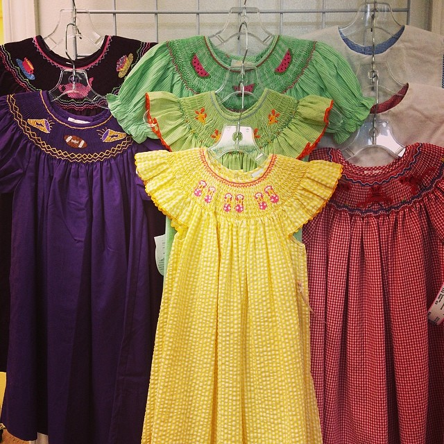 Happy Mardi Gras! Open 10-5 Today!#smocked #batonrougeboutique #batonrougeresale #225 #purpleandgold #monogram#sellbabystuff #sellkidsstuff