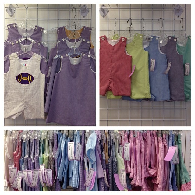 Huge Group of Brand New Boutique Just In!#yoyos&jumpropes#customclothing #easteroutfit #batonrougeboutique #batonrougeboutique #seersucker #lsu#purpleandgold