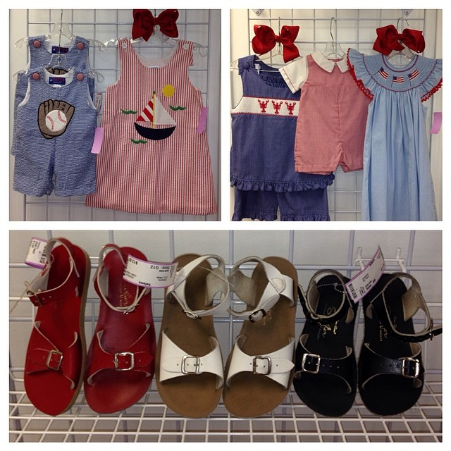 Red, White, & Blue New Arrivals! Get Ready For Summer & Save With Refinery Kids!#redwhiteandblue#julyfourthoutfits#kellyskids #remembernguyen #sunsan #saltwatersandals #mudpie#petitami #smocked #225 #batonrougeresale