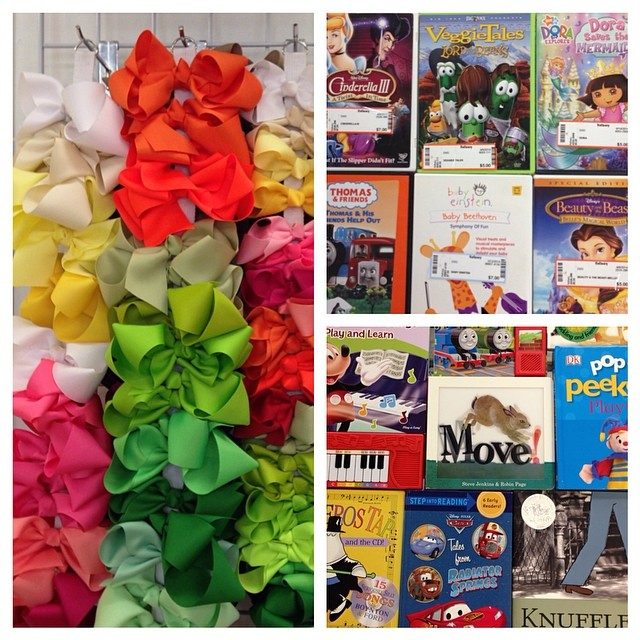Need Last Minute Easter Basket Fillers? We've Got You Covered!#easterbasket#childrensbooks #bows#kidsdvd#225 #batonrougeresale