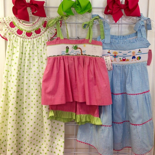 25% Off ALL Clothing Through Saturday! #summerclearance #smocked #boutiqueclothing #batonrouge #225 #kidsclothing