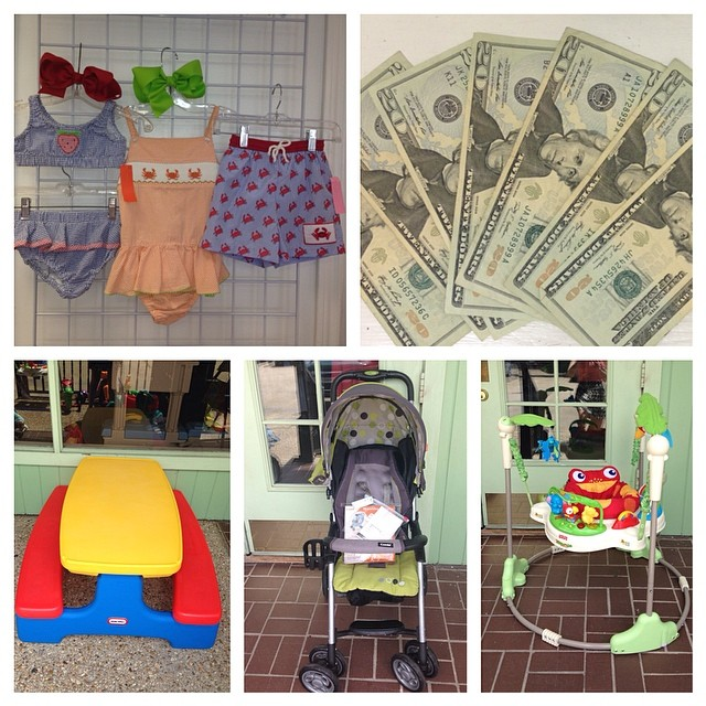 We Pay You $$$ On The Spot! Make Vacation $$$ Today!#vacationmoney#sellkidsstuff #cashforclothes#sellbabyitems#littletikes #fisherprice#smocked #childrensswimsuit#combi#225 #batonrougeresale #batonrougeboutique