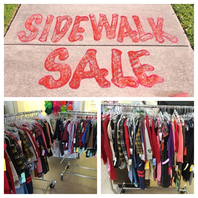 HUGE 50% OFF Sidewalk SALE at REfinery Kids!! Saturday, July 12th, 10am-5pm ONLY! Hundreds of girls, boys, and baby items are on sale 1/2 off!