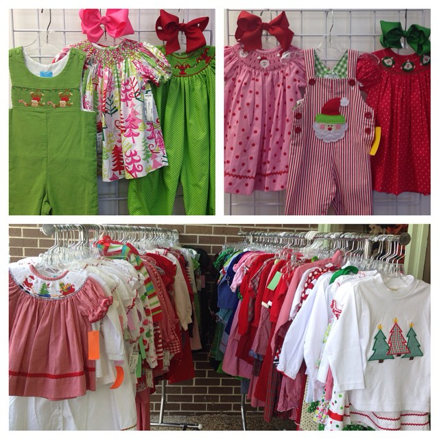 Over 200 Smocked & Boutique Christmas Items In Stock!#batonrouge #225 #smocked #christmasdress#batonrougeresale