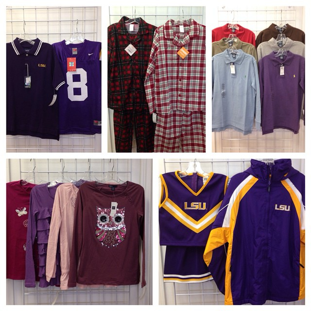 New With Tags New Arrivals + Hundreds Of Items Marked Down 50% Off!#fallclearance #batonrouge #purpleandgold #225 #batonrougeresale