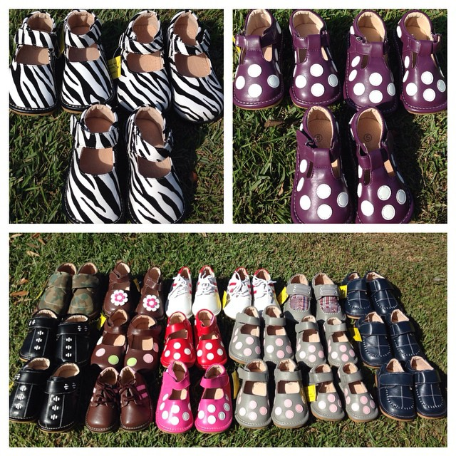 Check out these Brand New Squeaky Shoes, $12-$14!!#batonrouge #225#squeakyshoes #consignment