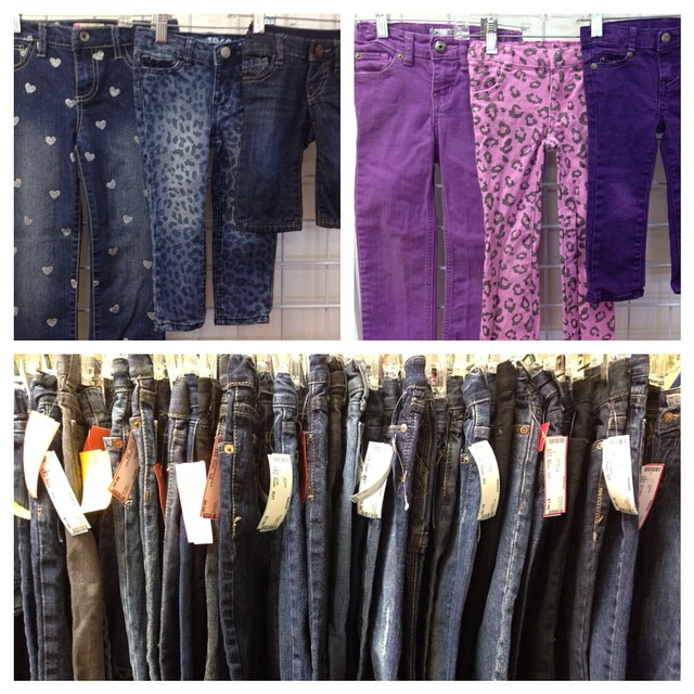 Jeans, Jeans, & More Jeans! Most are $6-$7!#225 #batonrouge #consignment