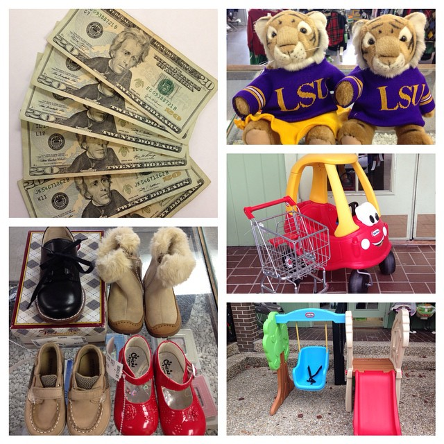 Make Christmas $$$ Today! We pay you $$$ on the spot for ALL seasons of clothing & shoes, toys, baby gear, & more!#lsu #littletikes #batonrouge #225 #purpleandgold #consignment