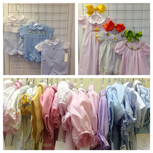 Easter Arriving Daily! Shop early & often for the best selection!#refinerykids #batonrouge #225 #consignment