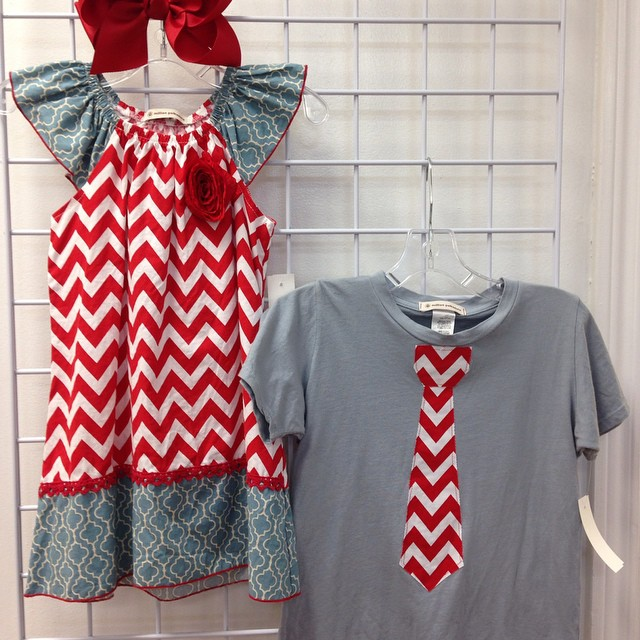 Check out this adorable brother & sister set!#225 #batonrouge #refinerykids