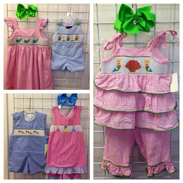 Sweet Smocked New Arrivals + New Spring Markdowns Just Added!#refinerykids #batonrouge #225 #consignment