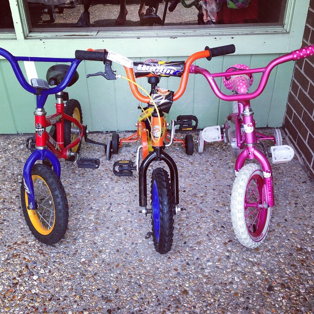 "Just in: 12"" kids bikes, $19.99-$36.99!#huffy #mongoose ##refinerykids #225 #batonrouge"