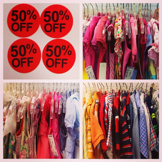 Hundreds of items just marked down an extra 50% off! Hurry in, these won't last long!#refinerykids #batonrouge #225 #consignment