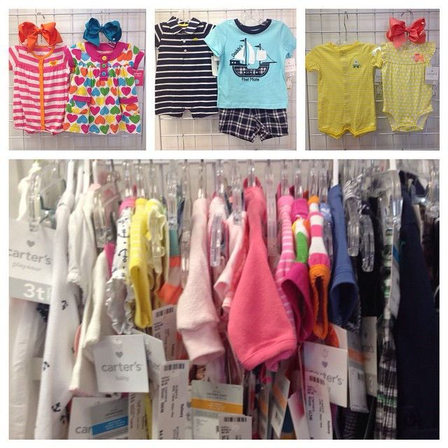 Carter's Cuties, New With Tags! Our Everyday Low Price: $4-$4.50!#refinerykids #225 #batonrouge #carters