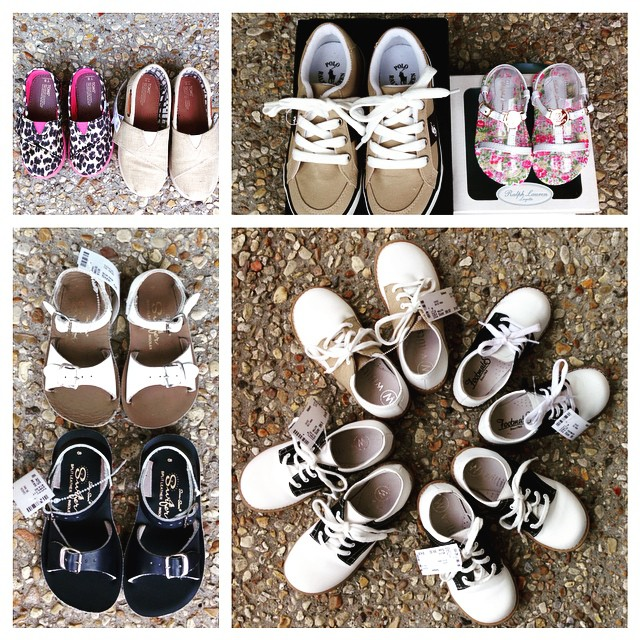 Did you know that we love to buy ALL seasons of shoes? Check out these New Arrivals!#sunsan #toms #willits #footmates#polo #ralphlauren #225 #batonrouge #refinerykids