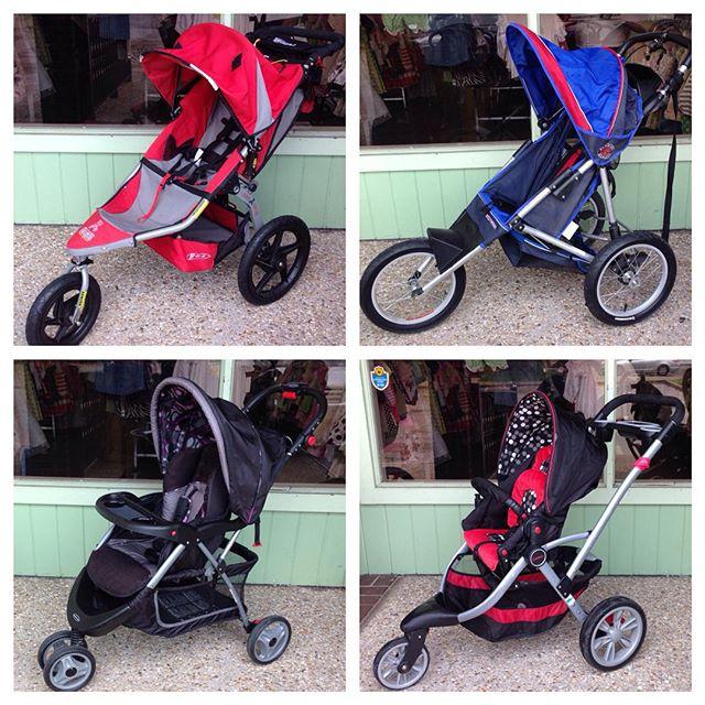 Jogging & 3 Wheel Stroller New Arrivals! #bobstroller #schwinn #kolcraft #kolcraftcontours #babytrend #225 #batonrouge #refinerykids