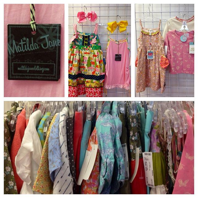 Great group of Matilda Jane just in! Most are new with tags!#matildajane #batonrouge #refinerykids #225