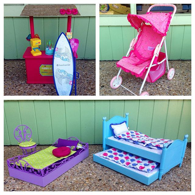 American Girl & Bitty Baby Accessories Just In!#americangirl #bittybaby #225 #batonrouge #refinerykids