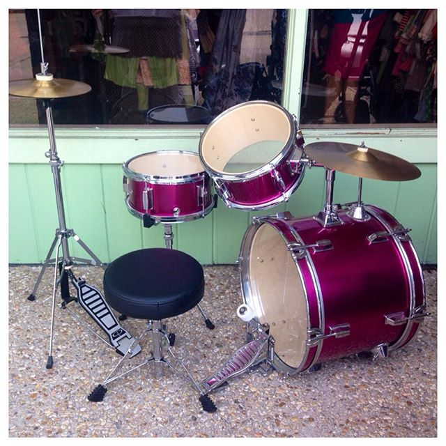 Your little rock star needs this drum set!#refinerykids #batonrouge #225