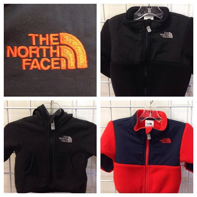 Baby North Face jacket new arrivals! Big kid jackets in stock, too!#thenorthface #northface #refinerykids #225 #batonrouge