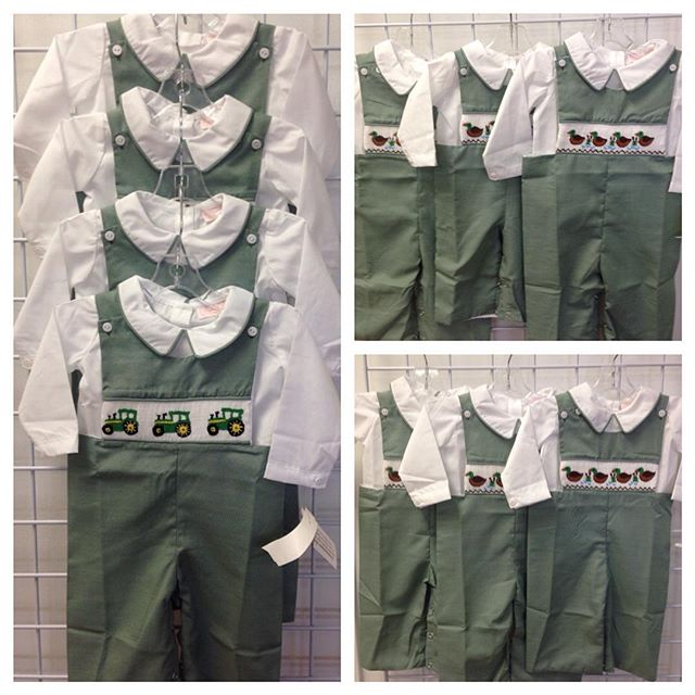 Little Boys New With Tags Smocked New Arrivals!#refinerykids #batonrouge #225 #smockedclothing