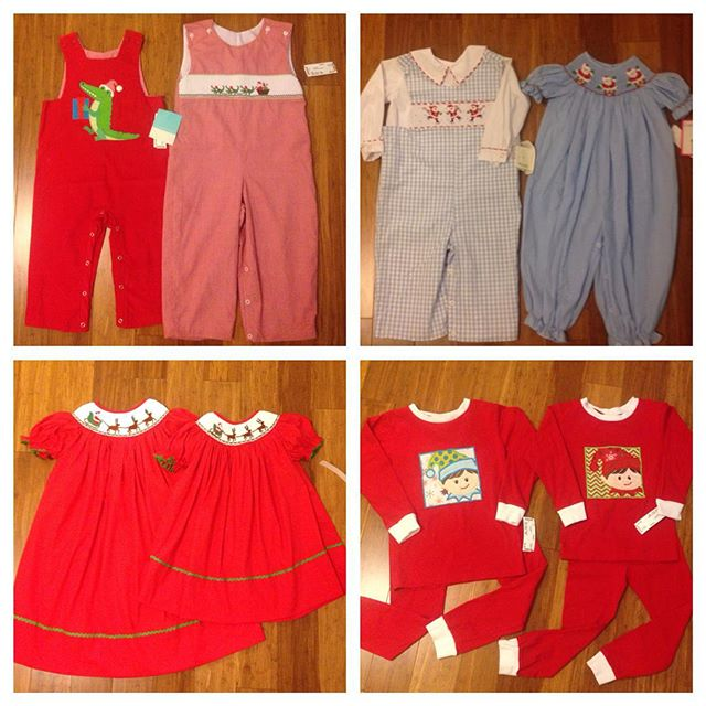 CHRISTMAS!! We are putting out hundreds of Christmas smocked & boutique outfits this week! Get your Christmas early for Christmas cards & pictures!#refinerykids #225 #batonrouge #gobr #idigbr