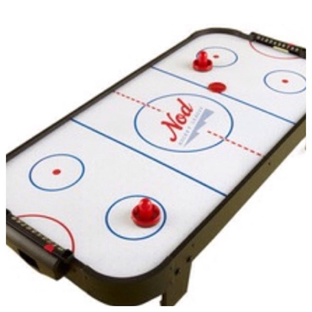 "Looking for rainy day fun? This Land of Nod 40""X 20"" air hockey table is only $24.99!#landofnod #rainydayfun #refinerykids #batonrouge #225"