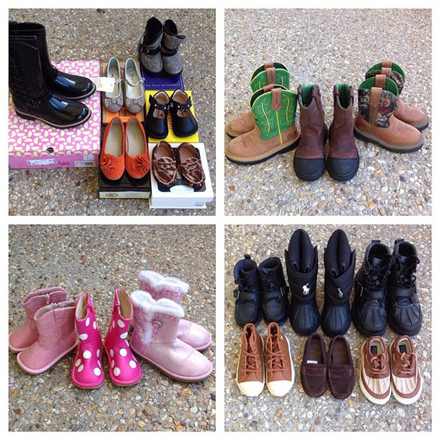 Fabulous Fall Shoes in Stock!#polo #ralphlauren #foxpaws#mooshu#stuwartweitzman #squeakyshoes #johndeere #striderite#mayoral