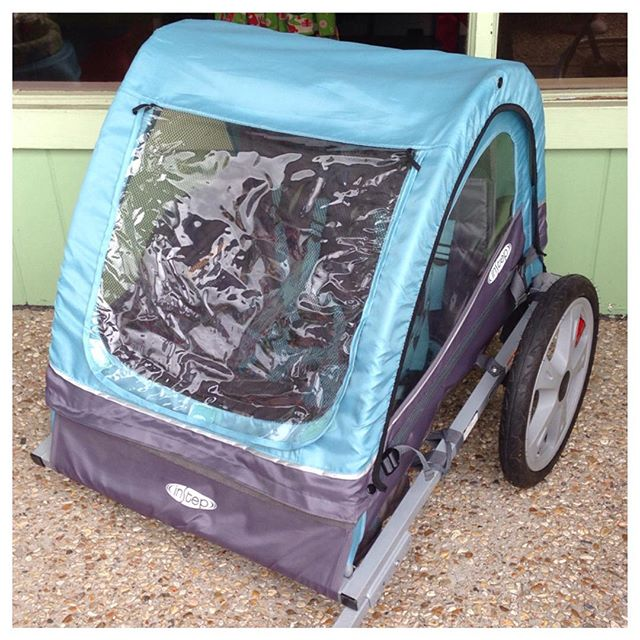 Great InStep double bike trailer in stock right now, only $54.99!#refinerykids #batonrouge #225 #instep