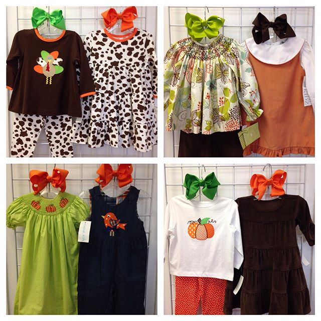 Thanksgiving New Arrivals! These are all 24 months & 2T, $14.00-$20.50!#batonrouge #225 #refinerykids #kellyskids #kashkreations #royalkidz#thanksgiving2015 #turkeyday2015