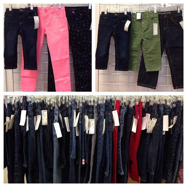 Jeans, Jeans, Jeans! Most are $6.00-$7.00!#225 #batonrouge #refinerykids #gapkids #levis #gymboree #crazy8 #childrensplace #oldnavykids