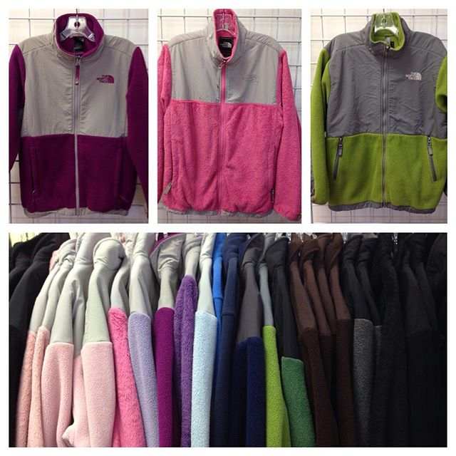 North Face jackets in stock! Boys & girls size 10/12, 14/16, & 18/20!#northface #batonrouge #225 #refinerykids