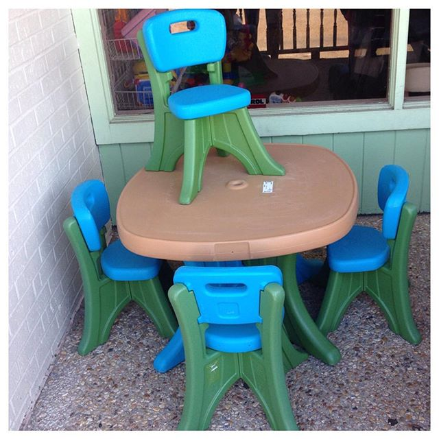 Just in- great Step 2 table & chairs!#step2 #refinerykids #225 #batonrouge