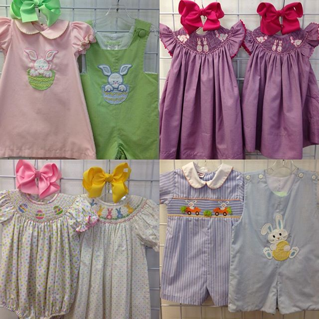 Hop on in and check out our cute Easter!#easter #refinerykids #225 #batonrouge #gobr
